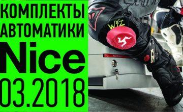 2Комплекты автоматики Nice 22.02.2018
